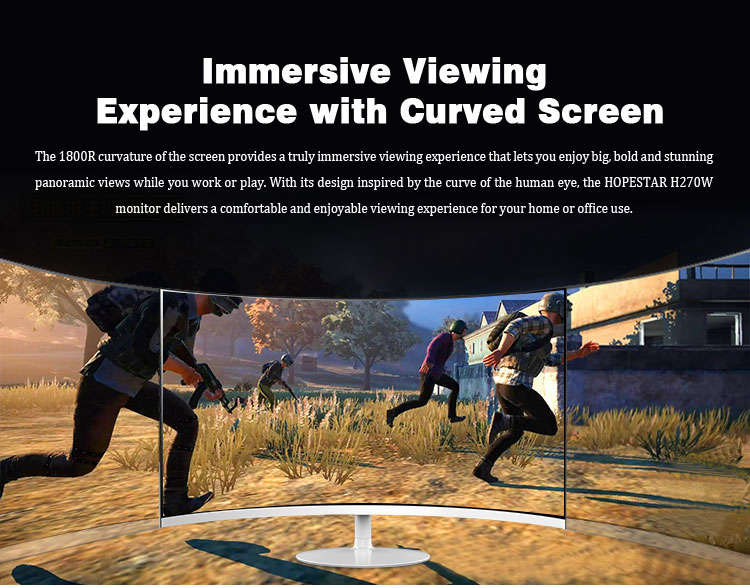 gaming monitor curved 144hz
