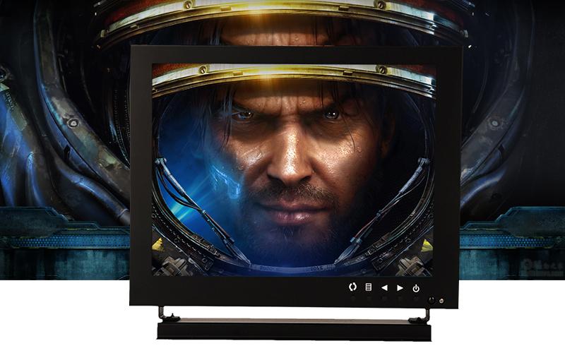 cctv monitor metal frame monitor