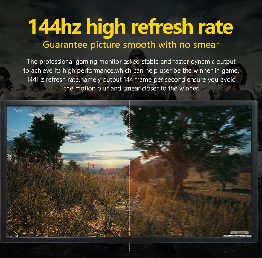 gaming monitor ips 144hz