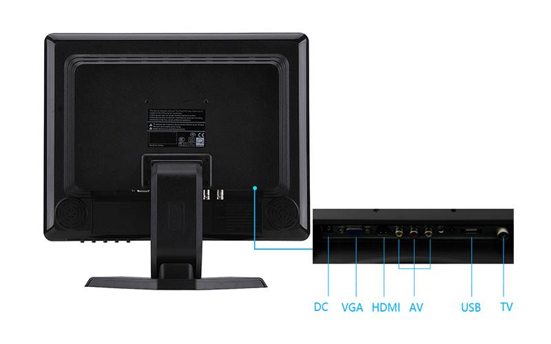square screen monitor desktop monitor