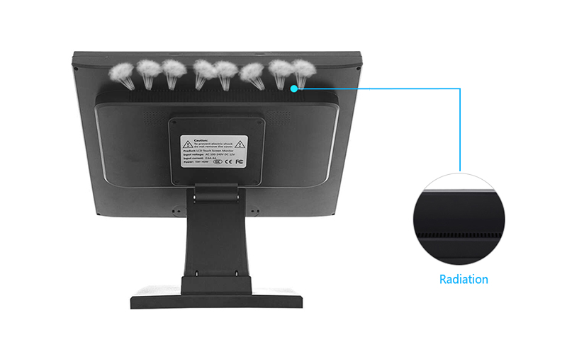 folding monitor computer monitor