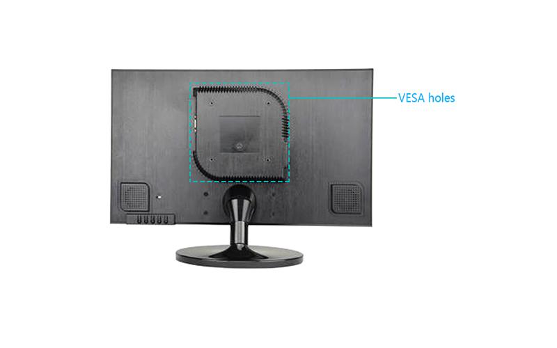black color monitor
