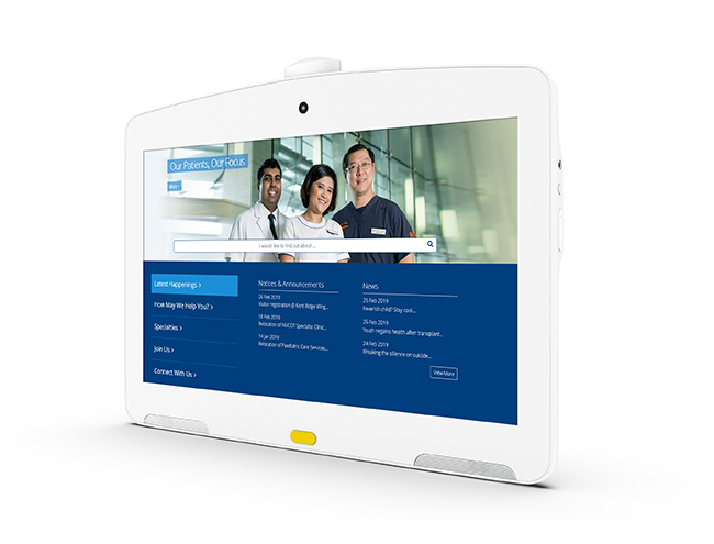 patient care tablet
