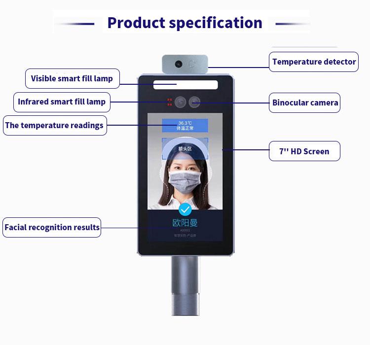 face temperature measurement